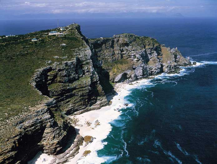 Cape Point vista, Diaz Beach