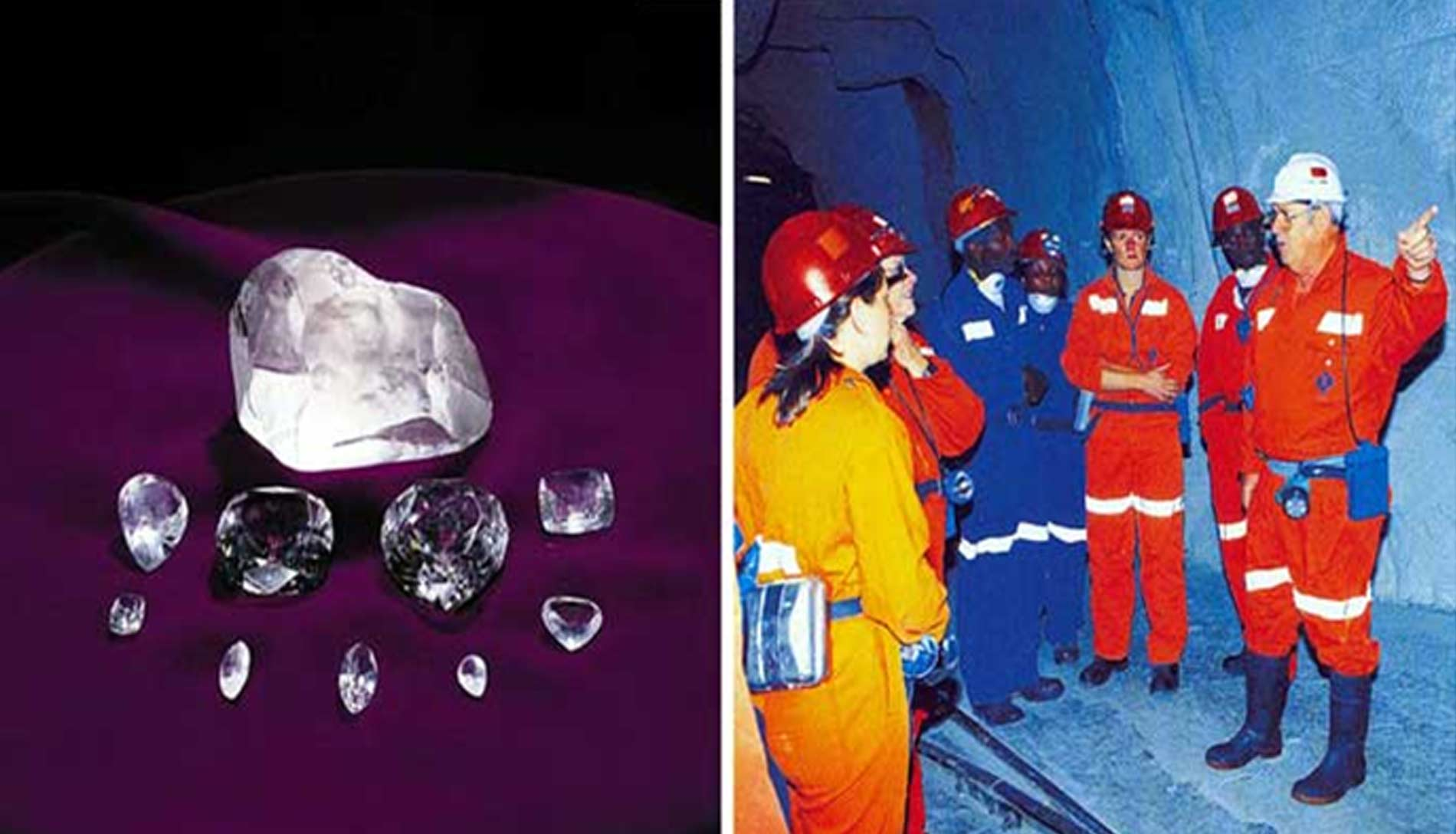 our operations jv underground kem mining ekapa petra diamond kimberley diamonds mines dsc