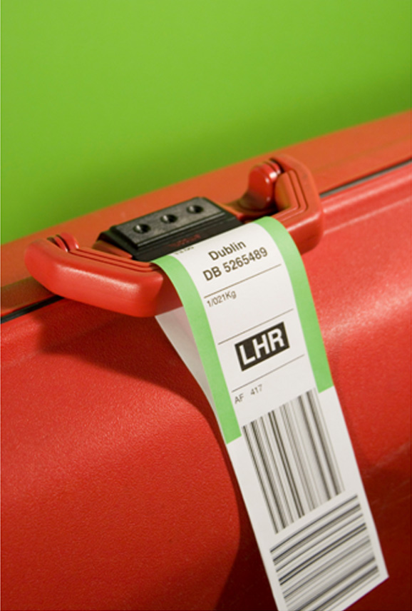 Travel Bag with tag