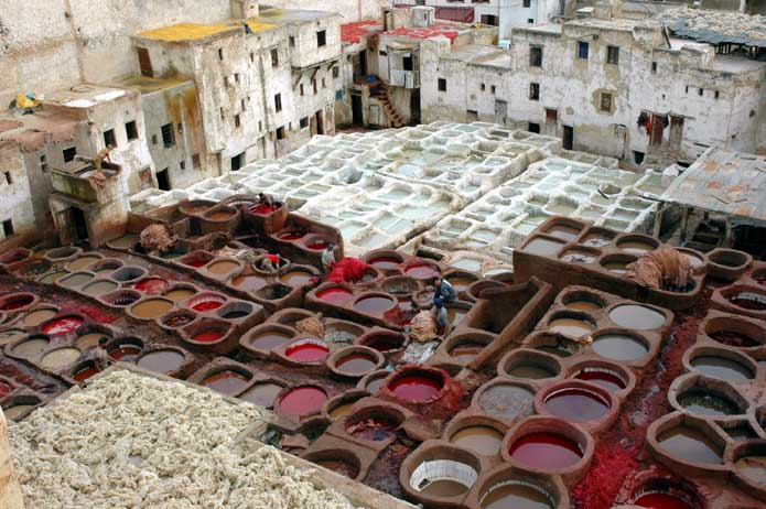 Fez Tannery, Morocco