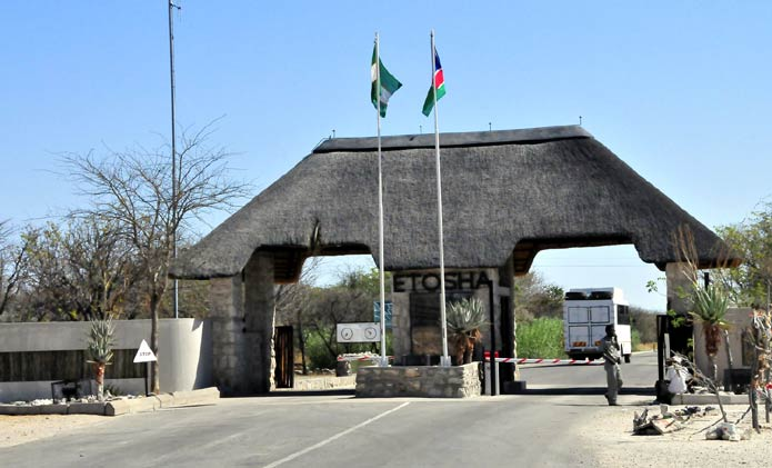 Von Lindequist Gate, Etosha National Park