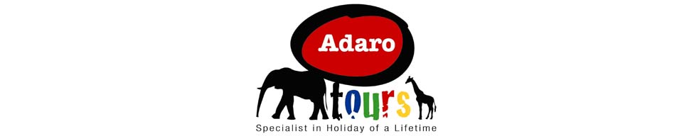 Adaro Tours logo and page banner