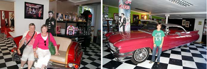 The Elvis and Marilyn Monroe Restaurant, Storms River Village