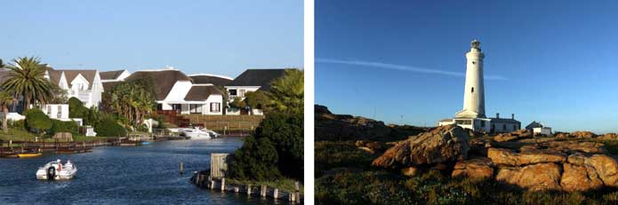 Cape St Francis - homes and lighthouse