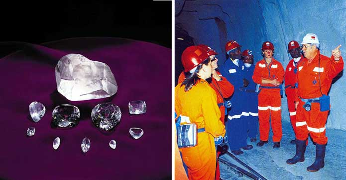 Cullinan Diamond Mine tour