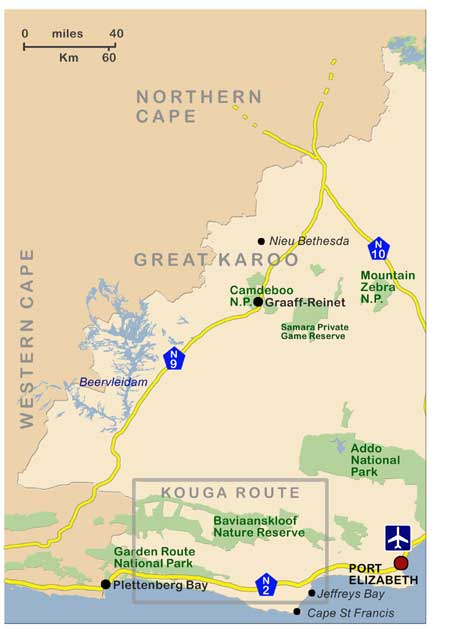 Eastern Cape - Great Karoo and western region
