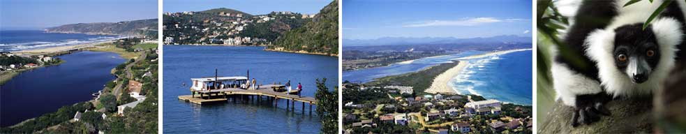 Knysna and Garden Route views, South Africa