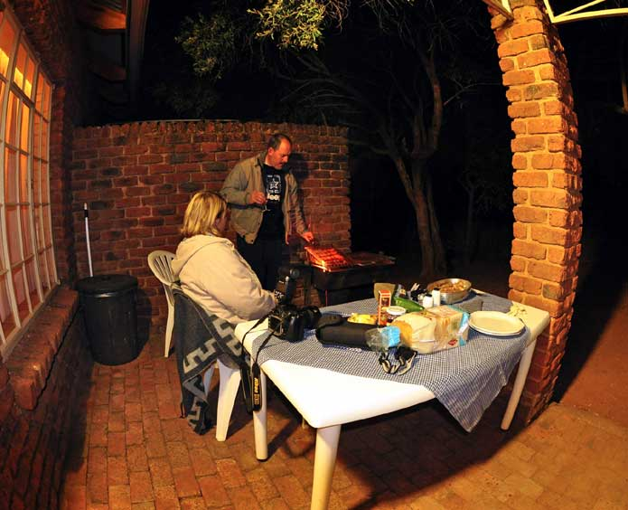 Bakgatla Camp Braai (Barbeque)