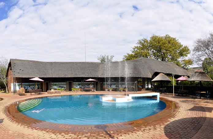Swimming Pool at Manyane Camp