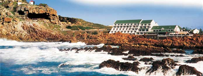 St Blaize Cave and Seafront Hotel, Mossel Bay
