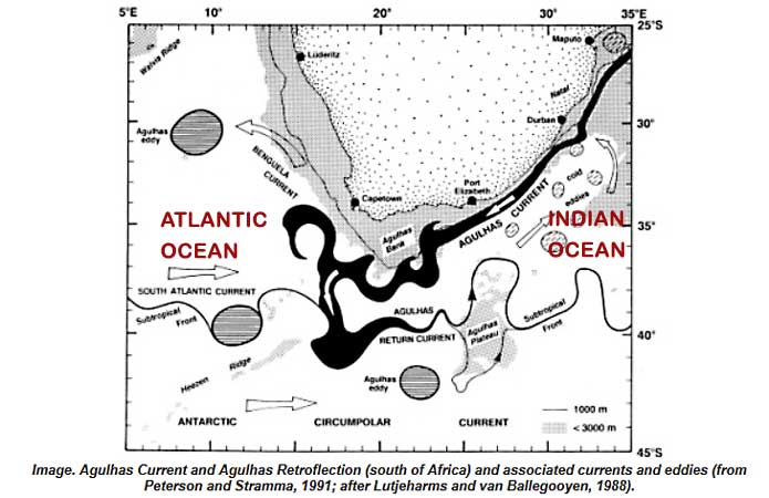 Agulhas Current off Southern Africa