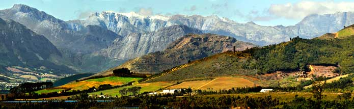 Boschendal Valley - photo by Boschendal Wine Estate