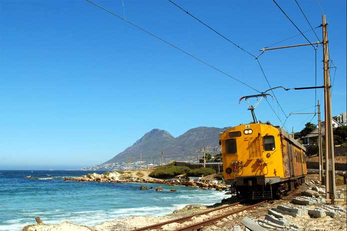 Metrorail service from Cape Town to Simon's Town