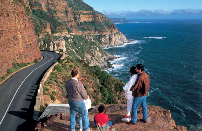 Views from Chapman's Peak Drive
