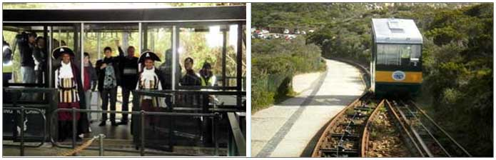 The Flying Dutchman funicular, Cape Point