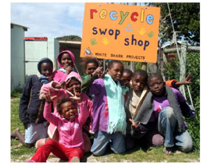 The White Shark Recycle Swop Shop