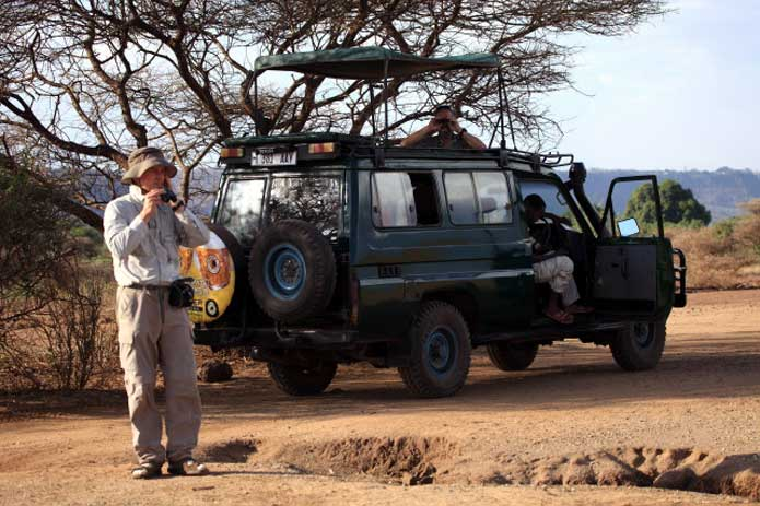4x4 Game Drive and Photographic Safari