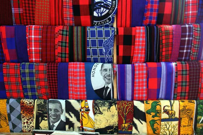 Masaai weaves and designs